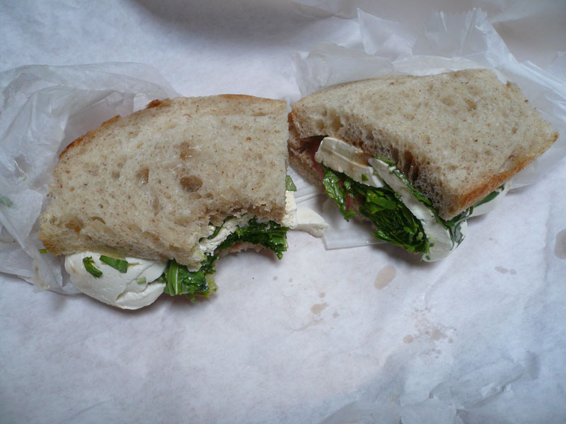 sandwich without crust